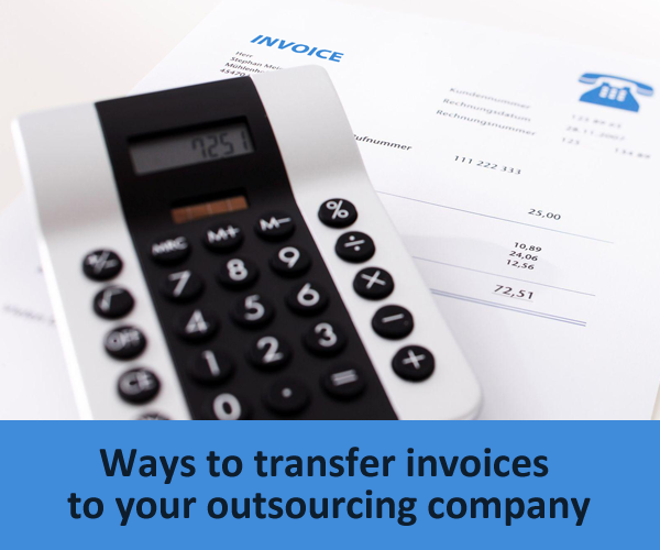 ways of transferring invoices