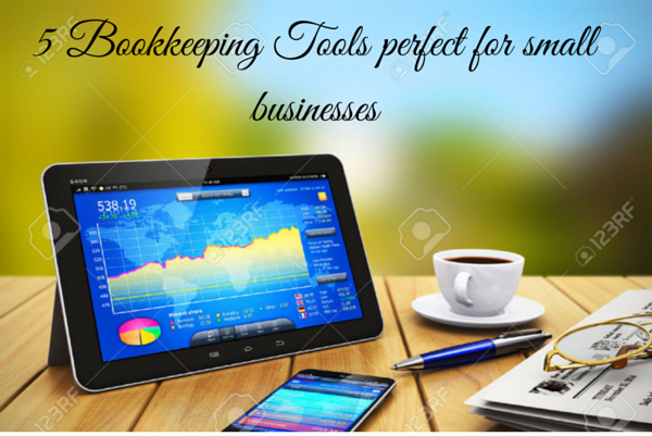 5 Bookkeeping Tools perfect for small businesses